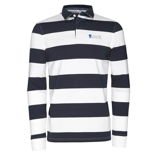 Mens Edward Rugby Top - Navy
