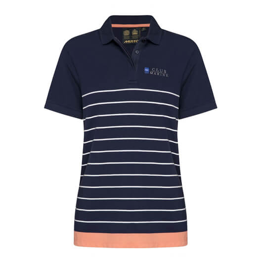 Ladies Biarritz Stripe Polo