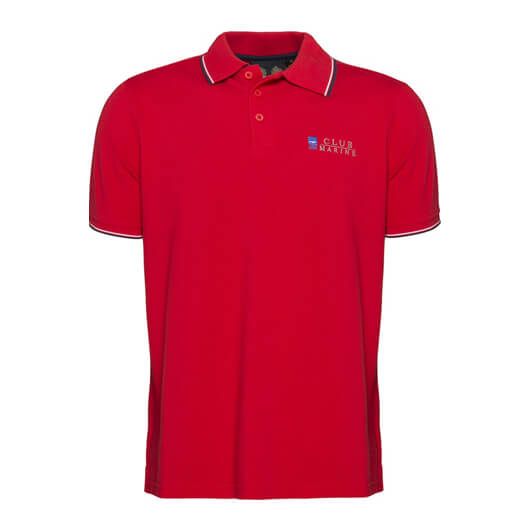 Mens Miles Tipped Polo