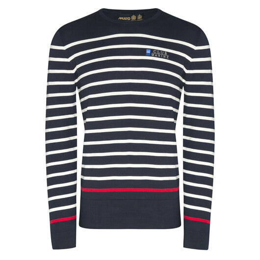 Mens Monaco Stripe Knit