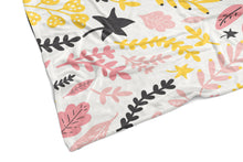 Floral Personalized blanket
