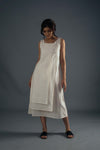 Layered Dress - White