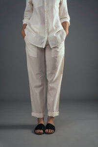 Everyday Trousers - Ivory
