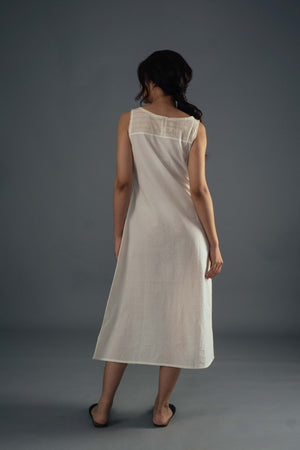 Layered Dress - Ivory