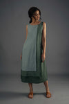 Layered Dress - Green