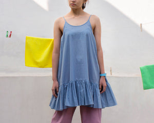 Camisole Dress (Blue)