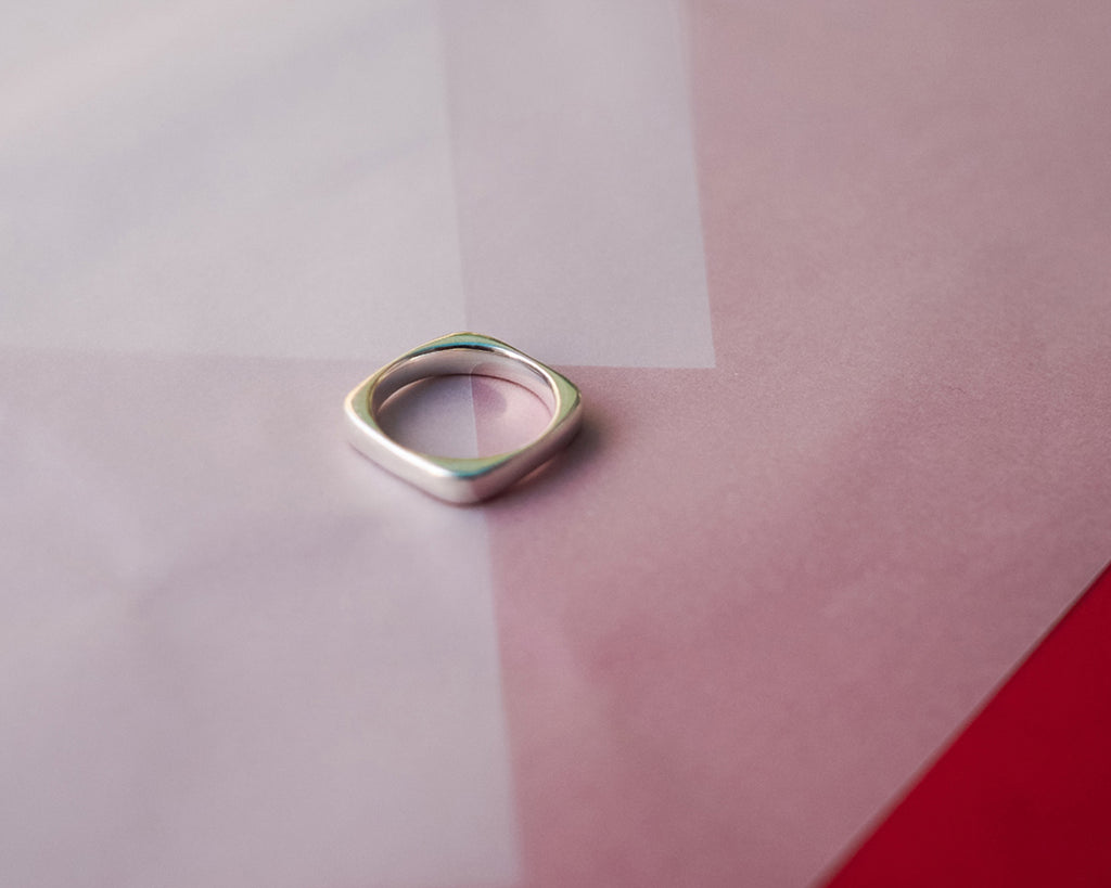 Squoval Ring