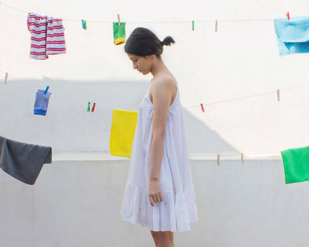 Camisole Dress (White)