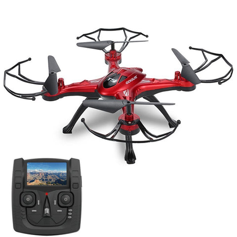 GoolRC 5.8G FPV Drone with 2.0MP HD Camera Live Video, Headless Mode, One Key Return and 3D Flips RC Quadcopter Height Hold Easy Fly for Learning