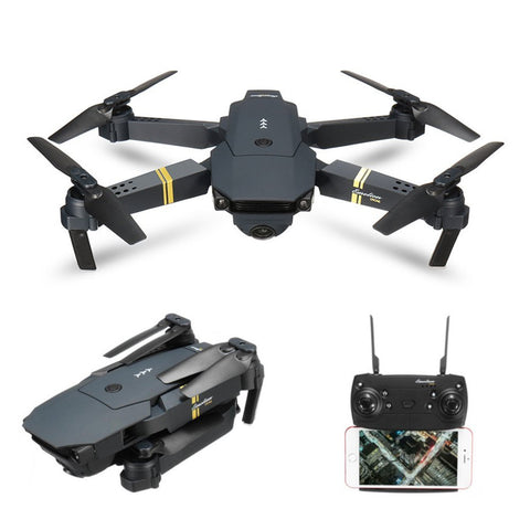 EACHINE E58 WIFI FPV Quadcopter With 2MP Wide Angle Camera Altitude Hold Mode Foldable APP Control Pocket Drone RTF