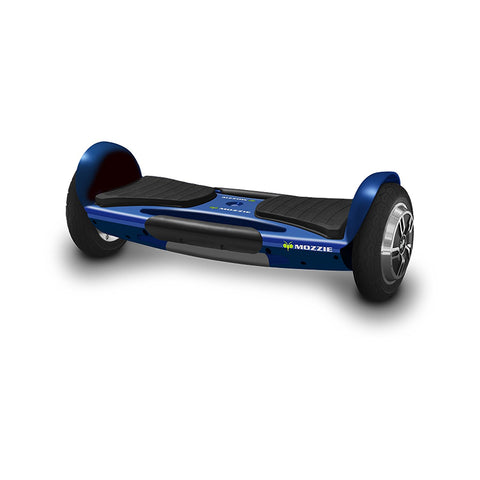 Blue Mozzie Hoverboard, UL 2272 Certified, Single Platform Auto Balancing Technology, Bluetooth Speakers, LED Head and Tail Lights