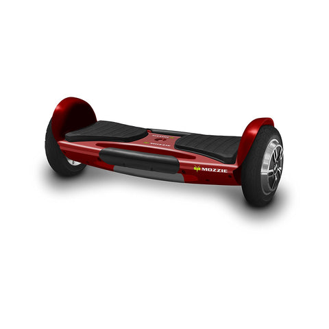 Red Mozzie Hoverboard, UL 2272 Certified, Single Platform Auto Balancing Technology, Bluetooth Speakers, LED Head and Tail Lights
