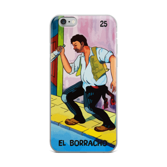 El borracho - funda para iPhone