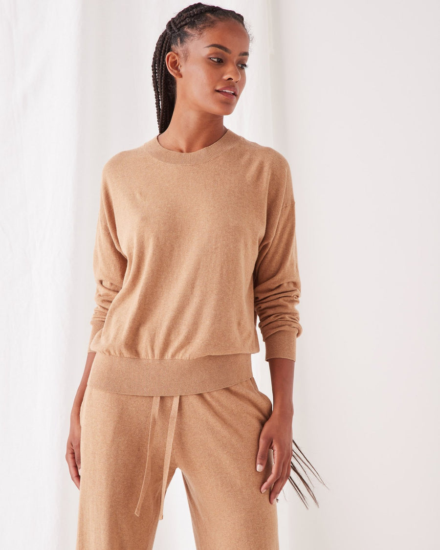 CASHMERE LOUNGE SWEATER