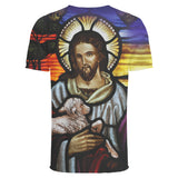 Jesus with Lamb 3D Full Printing