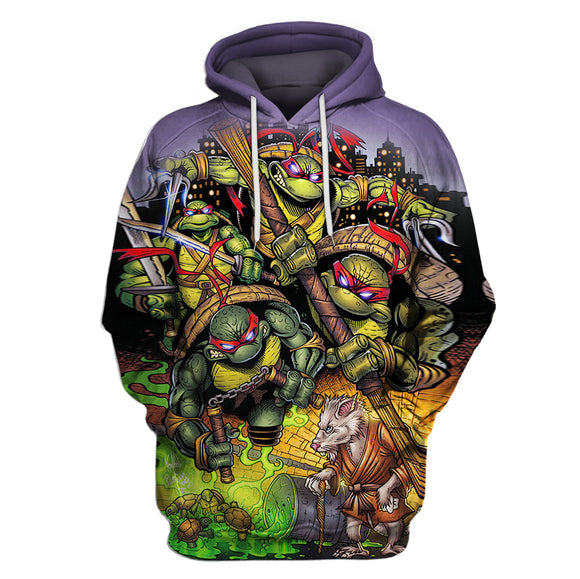 Teenage Mutant Ninja Turtles 3D Full Printing