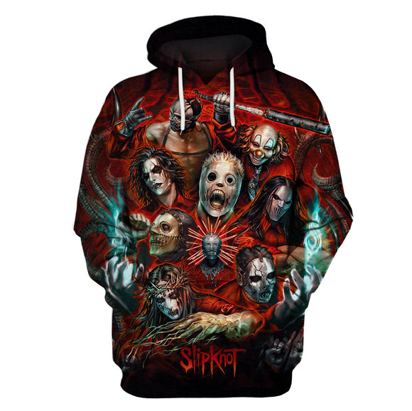 Slipknot 3D Full Printing