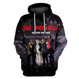 One Direction 3D Full Printing