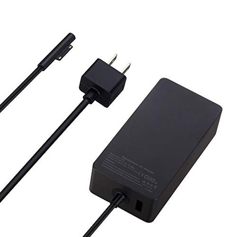 102W 15V 6.33A Power Adapter Charger for Microsoft Surface Book 2 Surface Laptop Surface Pro 3 Pro 4 Pro 5 with 6Ft Power Cord