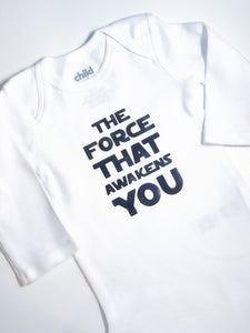 The Force That Awakens You | Star Wars Shirt