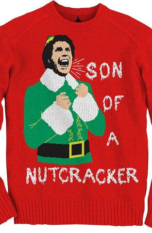 christmas ugly sweater son of a nutcracker sweaters