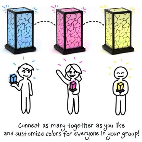 long distance friendship lamp for bff