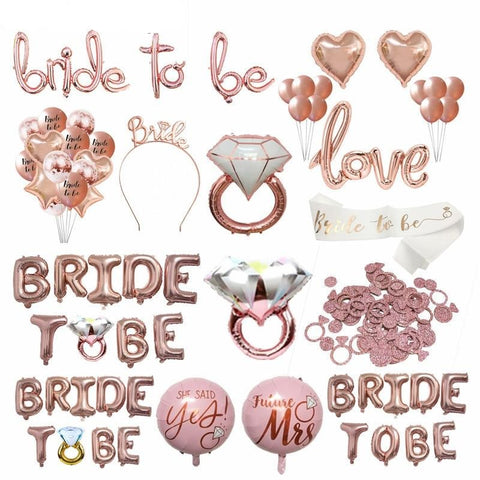 Bridal Shower Bachelorette Party Decorations Supplies