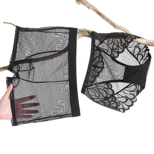 Lace Matching Couple Underwear Set - BigBeryl