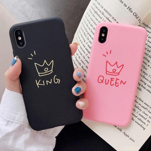 King and Queen Phone Cases