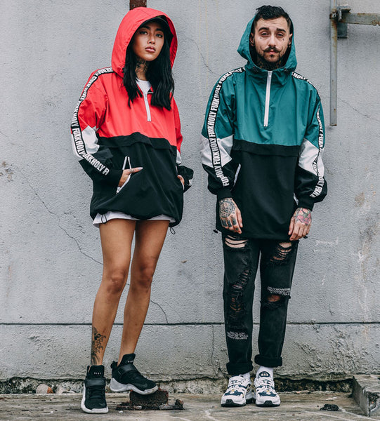 Hip Hop Matching Couple Hoodies | Swag Outfits For Couples - BigBeryl