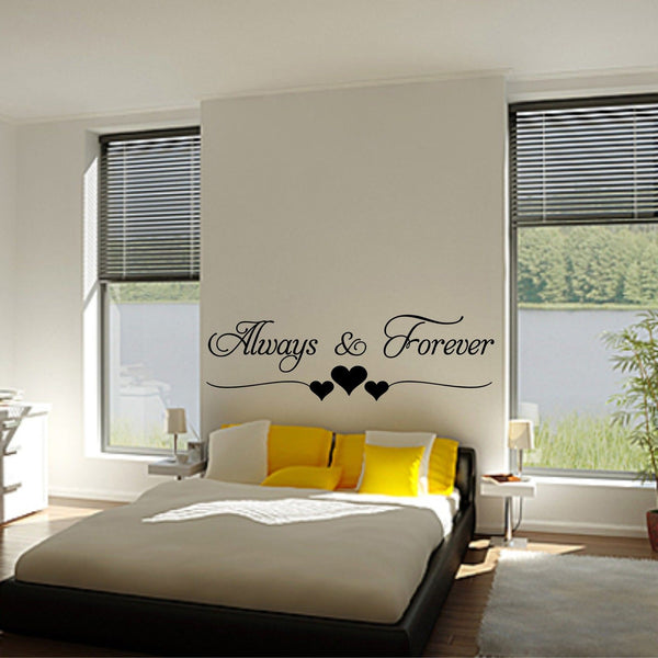 Always and Forever Wall Decal - BigBeryl