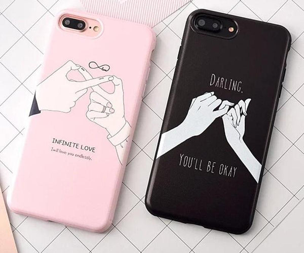 Infinite Love iPhone 7 and 7 Plus Cases for Couples - BigBeryl