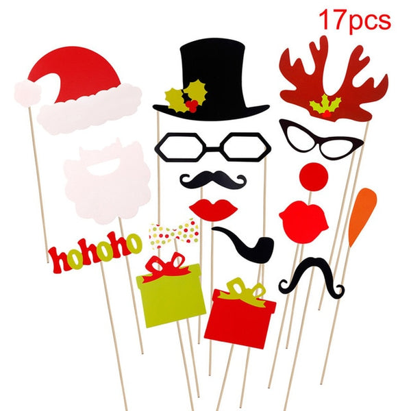 Christmas Photobooth Props - BigBeryl
