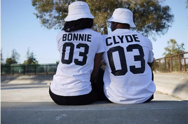 BONNIE and CLYDE Shirts For Couples - BigBeryl