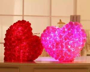 Heart Plush Luminous Pillow | Light Up Pillow - BigBeryl