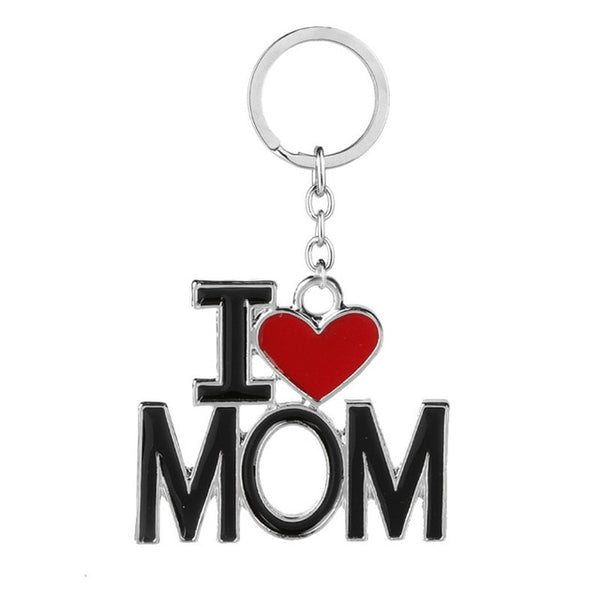 I Love Keychains For Mom Dad - BigBeryl
