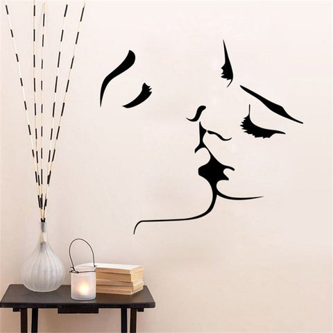 Romantic Wall Decal For Bedroom - BigBeryl