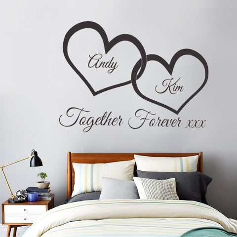 Personalized Custom Vinyl Wall Decal or Car Windshield Sticker