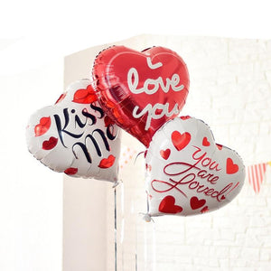 I Love You Balloons | Balloons for Anniversary Decoration - BigBeryl