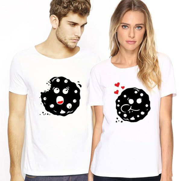 Matching Cookie Cute Couple Relationship Shirts - BigBeryl