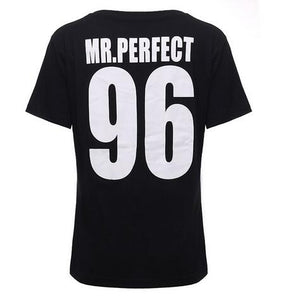 Mr and Mrs Perfect Shirts For Couples - BigBeryl
