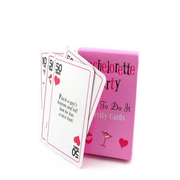 Exclusive 'Dare To Do Cards' Bachelorette Party Games - BigBeryl
