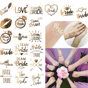 Bachelorette Party Temporary Tattoos - 10 PCs - BigBeryl