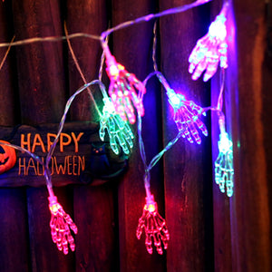 Scary Outdoor Halloween String Lights - BigBeryl