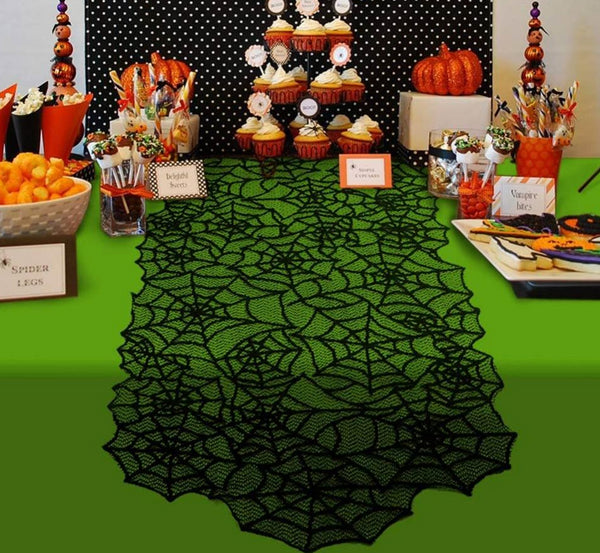 Scary Halloween Decorations Haunted Tablecloth - BigBeryl