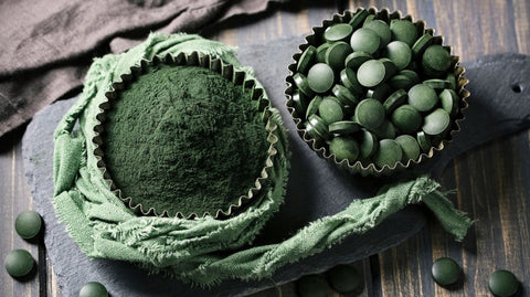 spirulina - crypto ppars - superfood -algae