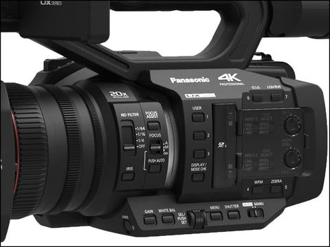 Panasonic AG-UX180 4K Premium Professional Camcorder (Call for Pricing)