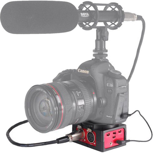 Saramonic SR-AX101 (2-Channel Passive Audio Adapter for DSLR Cameras)