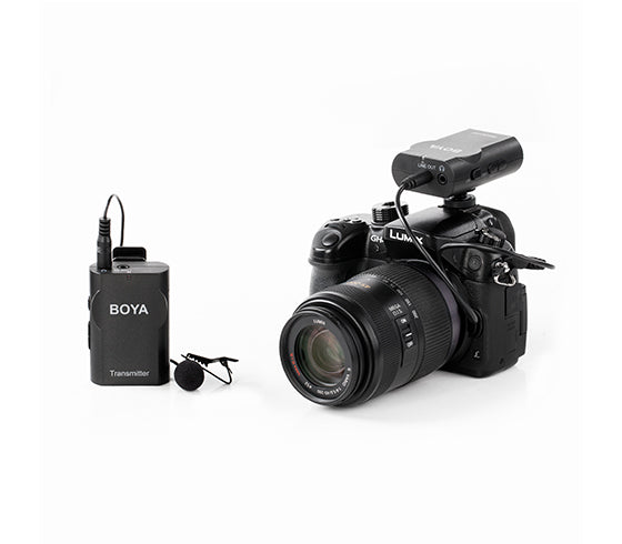 Boya BY-WM4 High performance wireless Mic for DSLR & Smartphones