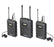 Boya By-WM8 UHF Dual-Channel Wireless Microphone System